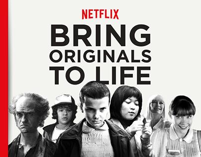 NETFLIX - Bring Originals To Life [We Are Social]