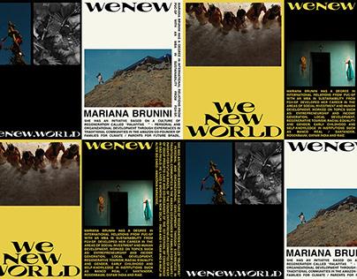 WENEW.WORD Visual Identity