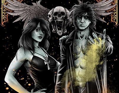 SANDMAN AND DEATH