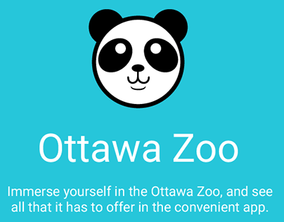 Ottawa Zoo Android App Design
