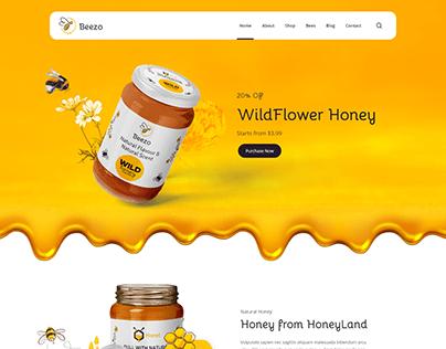 HoneyBee | Beautiful Website Design 2021