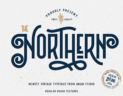 FREE | The Northern Vintage Typeface