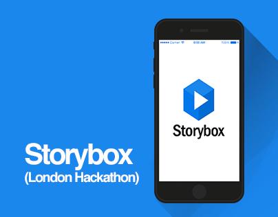 Storybox (Dropbox London Hackathon)