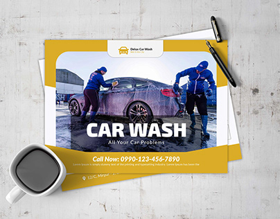 Car Wash EDDM Postcard