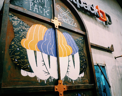 Mural Art at Bratpack