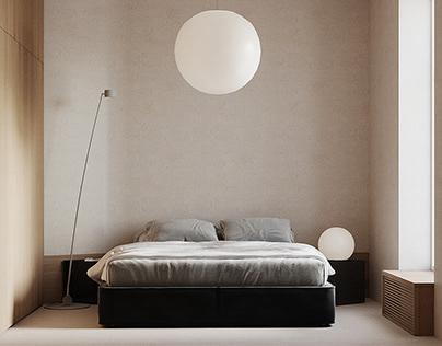 Cream bedroom