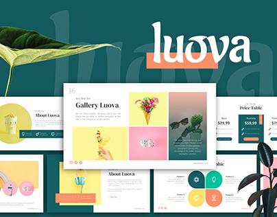 Luova - Creative Presentation Template
