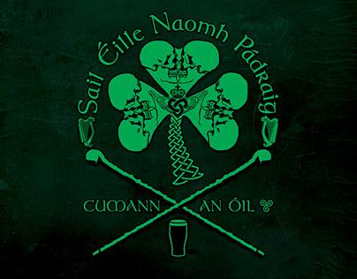 Irish Inspired Drinking Society insignia