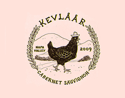 Kevlaar Cabernet Sauvignon Logo and Packaging Mockup