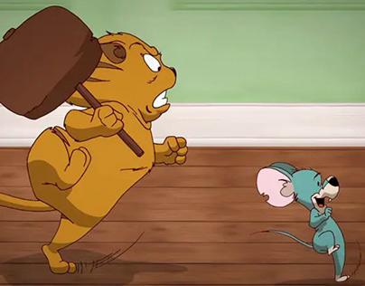 2D Animation # Cat & Mouse