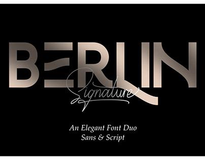 Berlin Signature | Font Duo