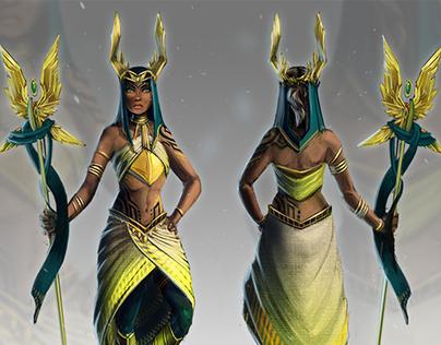 Neraya: Character Design