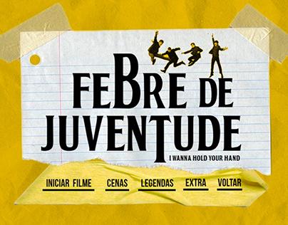 """Criação de menus para o filme """"Febre de Juventude"""""""