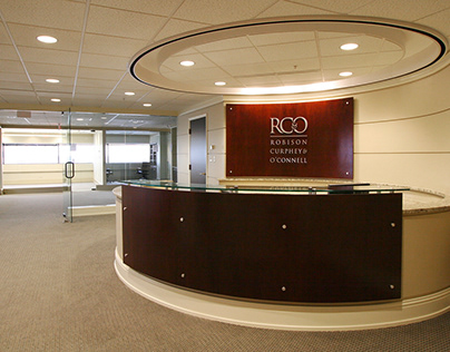 RC&O Offices & Reception Desk Design