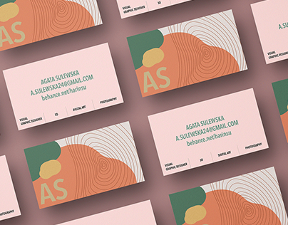 Personal Business Card and presentation