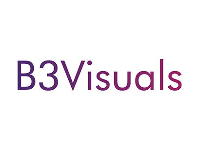 B3Visuals - Logo