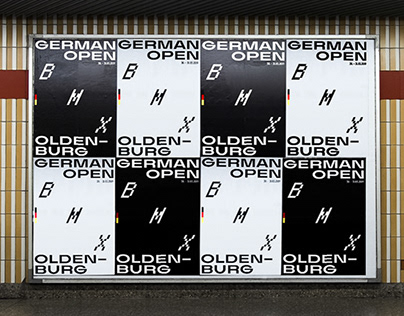 Visual Identity – German Open BMX