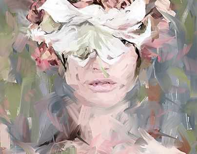 Digital Expressionistic Portraits.