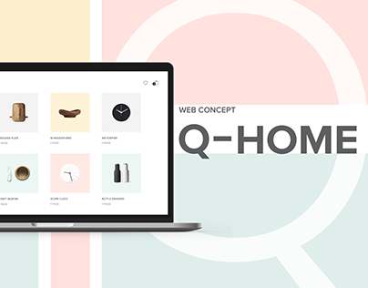 Q-Home E-commerce Website