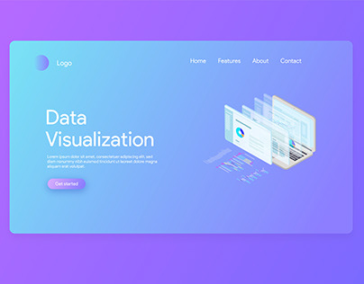 Data Visualization Landing page.