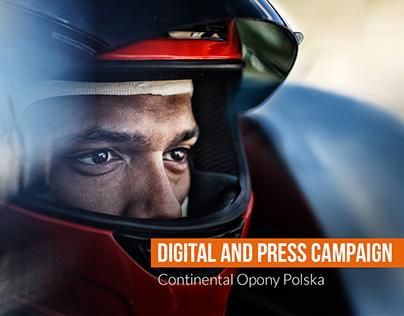 OldFresh & Continental - Digital & Press Campaign 2018