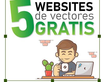 5 websites de vectores gratis
