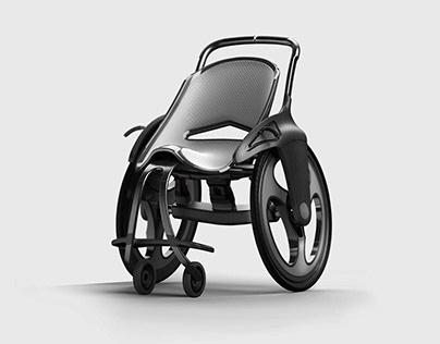 Ascent wheelchair