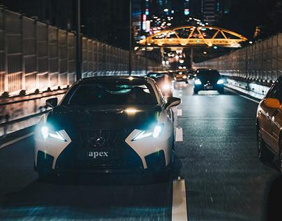 Lexus RCF/Taiwan taipei city