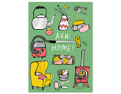 NEW HOME! A5 card