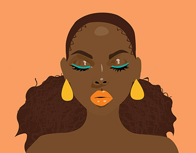 Black Woman Illustration