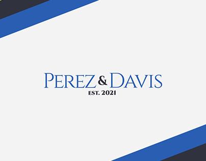 Perez & Davis - Civil Litigation Lawyer Brand Identity
