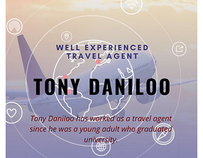 Well Experienced Travel Agent - Tony Daniloo