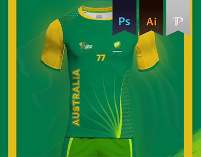 Australia Home kit 2016 - Kabbadi World Cup