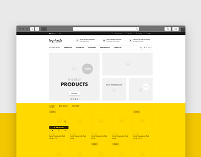 E-Commerce UX Prototype