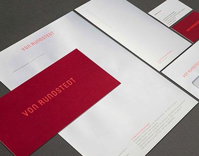 Von Rundstedt Corporate Design