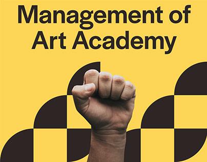 MOAA, Management of Art Academy Brand Identity Design