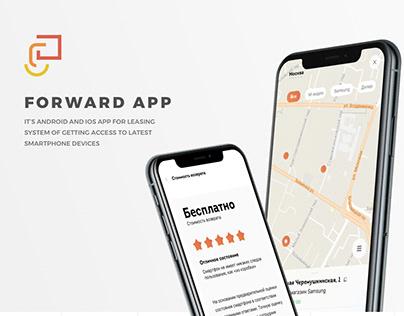 Forward app