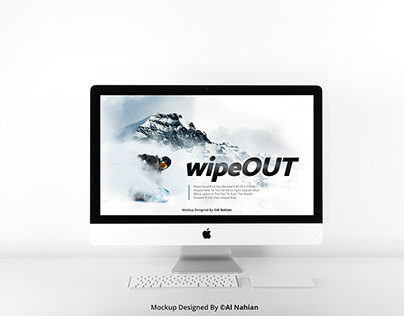 Best iMac Mockup - Download For FREE