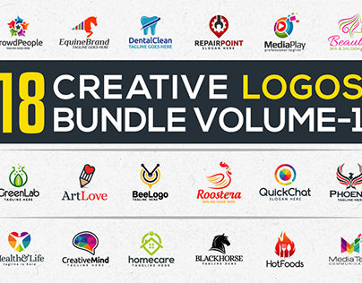 18 Creative Logos Bundle-I