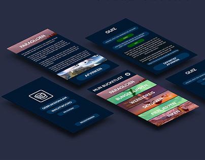 Bucketlist App Design