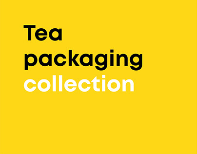Tea Packaging Collection