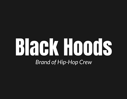 Brand - Black Hoods
