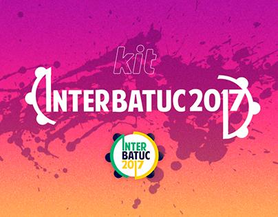 Kit Interbatuc 2017 | Mídia off