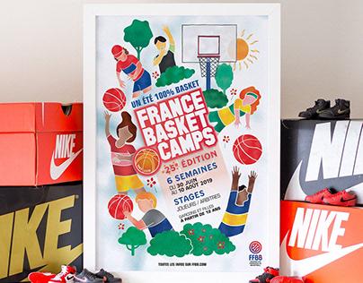 France Basket Camps 2019