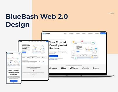 UI Design BlueBash Web