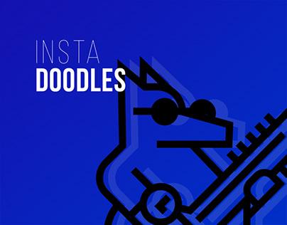 Instagram doodles