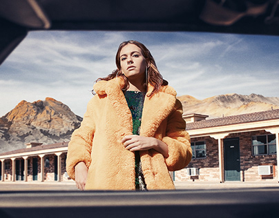 Death Valley Fashion photography full editing workflow