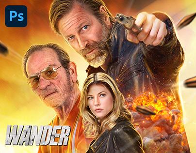 WANDER Movie - Official MENA Key Art
