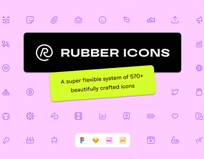 Rubber Icons FREE SAMPLE