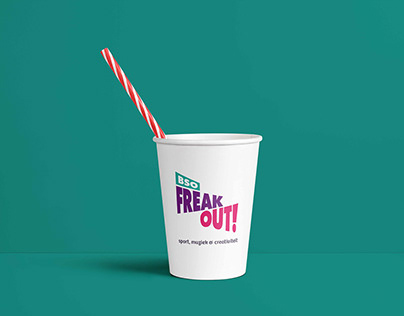 BSO FREAK OUT |Logo en visuele uitingen